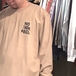 NOTHIN' SPECIAL / WRINKLE LOGO LONG SLEEVE TEE (SAND)