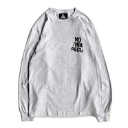 NOTHIN' SPECIAL / WRINKLE LOGO LONG SLEEVE TEE (ASH)
