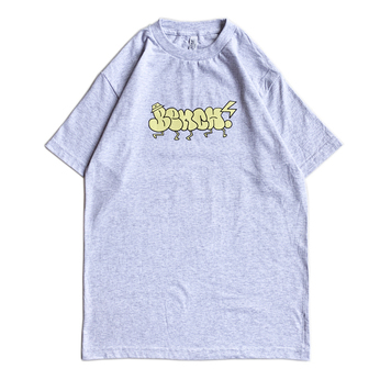 BENCH / THROW UP TEE (SILVER GREY)