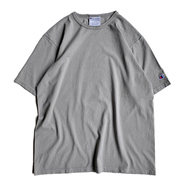 CHAMPION USA / GARMENT DYED TEE (CONCRETE)