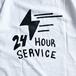 KRU NYC / CAB SERVICE TEE (WHITE)