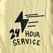 KR USA / CAB SERVICE TEE (YELLOW)