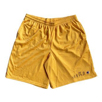 KRU NYC / KR CHAMPION SHORTS (YELLOW)