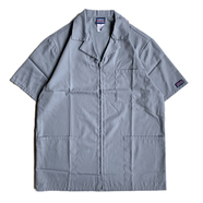 CHEROKEE WORKWEAR / DOCTOR ZIP COAT (GREY)