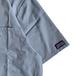 CHEROKEE WORKWEAR / DOCTOR ZIP SHIRT (GREY)