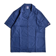 CHEROKEE WORKWEAR / DOCTOR ZIP COAT (NAVY)