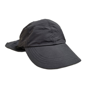 KNP HEADWEAR / SUNSHADE FISHING CAP (BLACK)