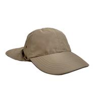 KNP HEADWEAR / SUNSHADE FISHING CAP (KHAKI)