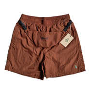 WOODS CANADA / EASY NYLON SHORTS with BAG (BROWN)