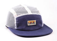 LASER BARCELONA / MONTSENY CAMPER MESH CAP (NAVY)