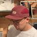 LASER BARCELONA / MONTSENY CAMPER TECH CAP (BURGUNDY)