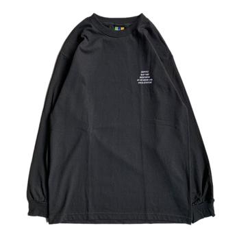 BEDLAM / SERVICE LS TEE (BLACK)