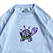 KRU NYC / KRU TURTLE TEE (POWDER BLUE)