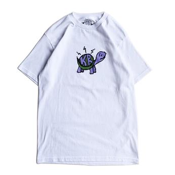 KRU NYC / KRU TURTLE TEE (WHITE)