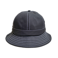 NOTHIN' SPECIAL / ORGANIC COTTON 6 PANEL BELL HAT (BLACK)