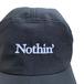 NOTHIN' SPECIAL / SIDE MESH NYLON 5 PANEL CAP (BLACK)
