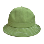 NOTHIN' SPECIAL / ORGANIC COTTON 6 PANEL BELL HAT (LIME GREEN)