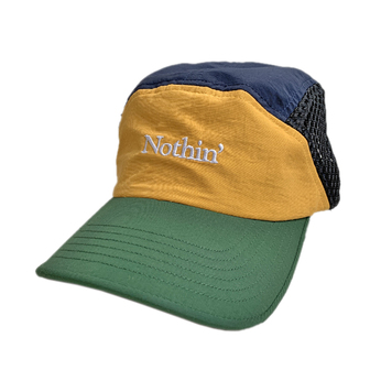 NOTHIN' SPECIAL / SIDE MESH NYLON 5 PANEL CAP (MULTI)