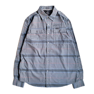 ATG by WRANGLER / UTILITY FLANNEL SHIRT (GREY)
