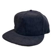 CALI HEADWEAR / 5PANEL CORDUROY CAP (BLACK)