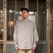 Dockers by Levi's / NO COLLER SHIRT (GREY)