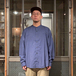 Dockers by Levi's / NO COLLER SHIRT (NAVY)