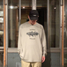 NOTHIN' SPECIAL / COELACANTH LONG SLEEVE TEE (STONE WASHED GREEN)