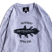 NOTHIN' SPECIAL / COELACANTH LONG SLEEVE TEE (ASH)