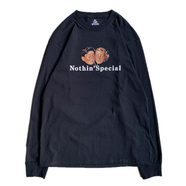 NOTHIN' SPECIAL / ENJOY LONG SLEEVE TEE (BLACK)