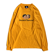 NOTHIN' SPECIAL / ENJOY LONG SLEEVE TEE (GOLD)