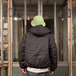 WFS (World Famous Sports) / Insulated Hooded Jacket (BLACK)