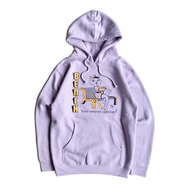 BENCH / RETIRED NUMBER HOODIE (PURPLE)