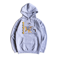BENCH / RETIRED NUMBER HOODIE (GREY)