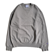 CHAMPION USA / GARMENT DYED CREW NECK (CONCRETE)