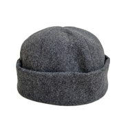 EMSTATE by WINNER CAPS / WOOL ROLL CAP (GREY)