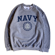 IVY SPORT / US NAVAL ACADEMY SWEAT SHIRT (GREY)