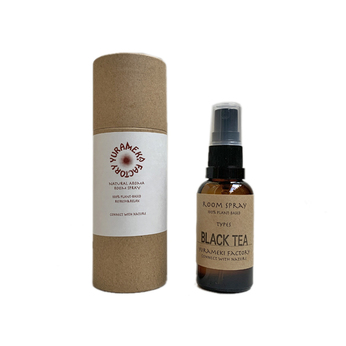 YURAMEKI FACTORY / NATURAL AROMA ROOM SPRAY (BLACK TEA)