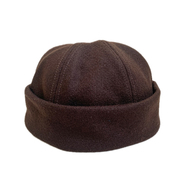 EMSTATE by WINNER CAPS / WOOL ROLL CAP (BROWN)