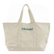 PACKING / CANVAS TOTE BAG (NATURAL)