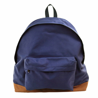 PACKING / BOTTOM SUEDE BACKPACK (NAVY)