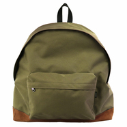 PACKING / BOTTOM SUEDE BACKPACK (OLIVE)