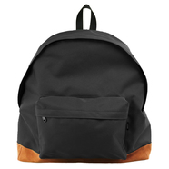 PACKING / BOTTOM SUEDE BACKPACK (BLACK)