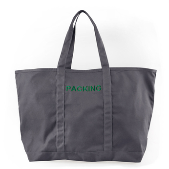 PACKING / CANVAS TOTE BAG (GREY)