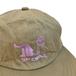 WACK WACK / COUCH POTATO WAXED COTTON 6PANEL CAP (BEIGE)