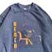 BENCH / RETIRED NUMBER CREW NECK (CHARCOAL)