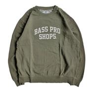 BASS PRO SHOPS / LOGO CREW NECK (OLIVE)