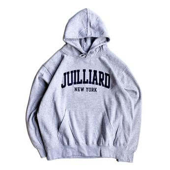 THE JUILLIARD SCHOOL / LOGO HOODIE (GREY)