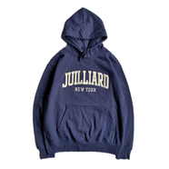 THE JUILLIARD SCHOOL / LOGO HOODIE (NAVY)