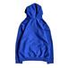 KRU NYC / Embroidered Kru Hoodie (BLUE)