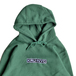 KRU NYC / Embroidered Kru Hoodie (GREEN)